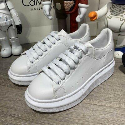 Кроссовки Alexandr McQueen Oversized All White белые