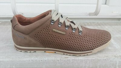 Кроссовки весенние кожаные columbia