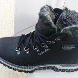 Ботинки польские зимние кожаные