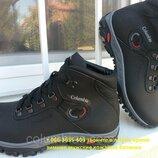 Акция зимние кожаные ботинки collumbia