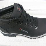 Ботинки кожаные зимние columbiaа н8