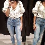 Модная блуза в ретро стиле Zara