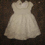 Симпатичное детское платьице,. размер 80