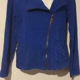 Женский пиджак, Бомбер, касуха, синяя куртка