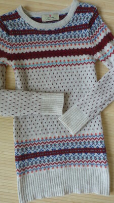 Платье Atmosphere туника вязаное с узорами шерсть