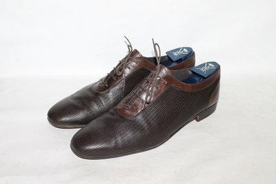 Оригинальные кожаные туфли Fendi made in Italy 11 45 размер
