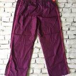 Штаны спортивные женские фиолетовые большого размера