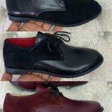 Ботинки натуральная кожа ,замш 36-40