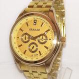 Стильные часы ORAHAO металлический браслет унисекс
