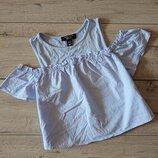 Топ кроп с открытыми плечами New Look 10-11 лет 146 см
