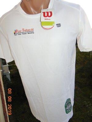 Новая спортивная футболка бренд Wilson.xs-s-m.унисекс .