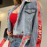 Джинсовая куртка 42 - 48 два цвета