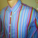Рубашка в полоску hackett london оригинал