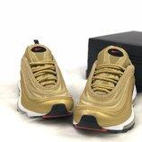 Женские кроссовки Air Max 97 Gold | Жіночі кросівки Знижка