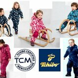 Теплый зимний комбинезон TCM Tchibo для девочки и для мальчика.