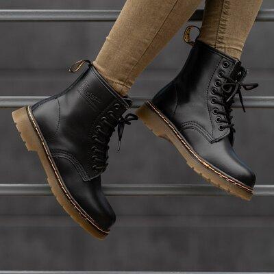Демисезонные женские ботинки Dr. Martens   Жіночі Мартенс Весна