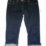 Темные джинсовые бриджи Denim Co