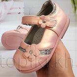 Туфли Clibee d81p розовый размеры 20-25