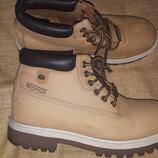45р- 29 см ботинки нубук Skechers air cooled waterproof