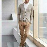 Мужские джинсы ZARA MAN р. 48 32 светло-коричневые