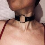 Портупея на шею, черный чокер широкий, женские чекеры, чокер, женские чокеры, портупея чокер на шею