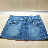 Юбка джинсовая размер 26