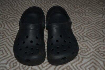 Кроксы Crocs оригинал M5 W7 стелька 24 см 37 размер