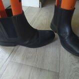 Кожаные ботинки Taylor&Wright 26,5см,отл.сост