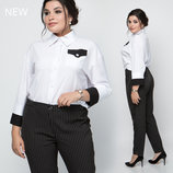 Женские брюки большие размеры 50-60