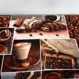 Кофе Набор красивых полотенец из хлопка
