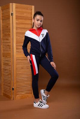 Стильний спортивний костюм для дівчат підлітків р.158см