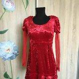 платье вилюр