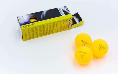 Набор мячей для настольного тенниса Donic Prestige 608328 3 мяча в комплекте 2 Star