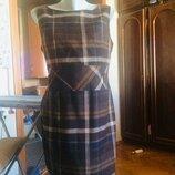 Стильный сарафан,платье в клетку,от бренда s.oliver