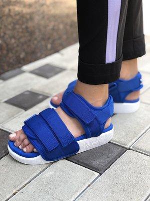 Жіночі босоніжки Adidas ADILETTE Blue | Босоножки Скидка