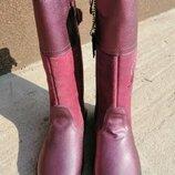 Супер цена Последний размер Сапоги зимние кожаные