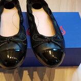 Туфли черные Beberlis, кожа, новые, размер 34