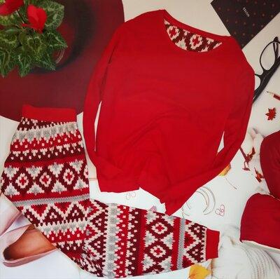 Пижама Marks&Spencer, 100% полиестер, размер 12-14