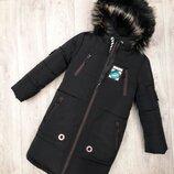 Стильное зимнее пальто для парней 36-46 рр