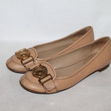 Miu Miu кожаные нюдовые балетки 36-37 размер