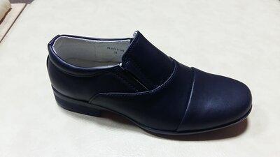 Туфли на мальчика, 34-36р., код 77-3-038