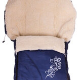 Мешок -конверт на Овчине для коляски санок