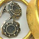 Запонки серебро Ссср 875 проба 10,85 грамма