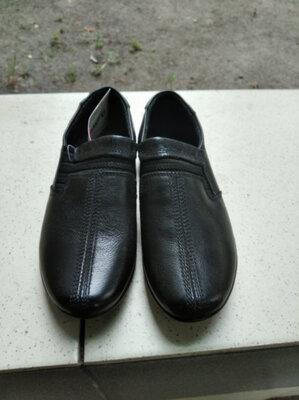 Туфли школьные для мальчика, мокасины школьные, туфли для мальчика 18 см
