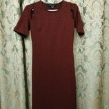 Стильное платье в рубчик Atmosphere