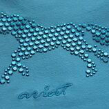 футболка голубая лошадка 6 лет