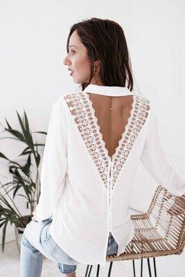 Блузка белая 42 - 46