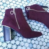 Демисезонные ботильоны ботинки от New Look на устойчивом каблуке