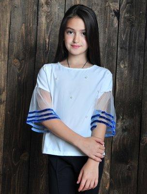 Последние размеры Нежная стильная блуза