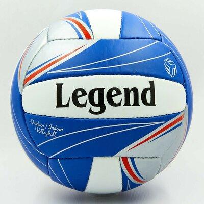 Мяч волейбольный Legend 0142 размер 5, PU сшит вручную